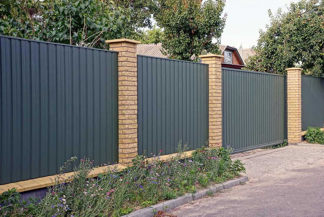 Sutherland Shire Colorbond fence