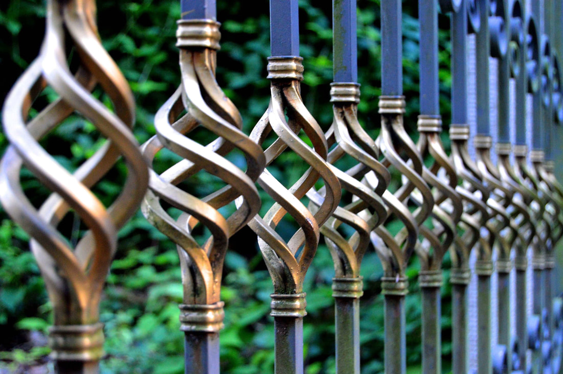 Yowie Bay wrought iron fence